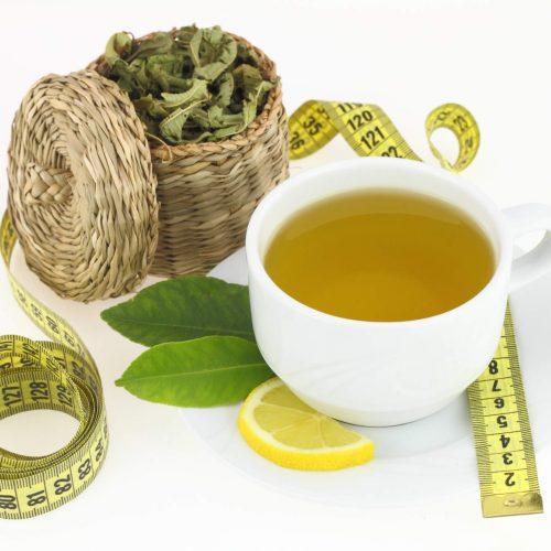 čaj a chudnutie